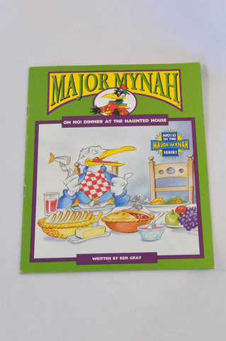 Major Mynah Oh No! Dinner At The Haunted House Book Unisex 2-6 years