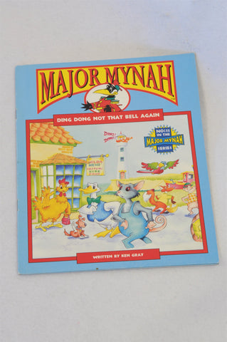 Major Mynah Ding Dong Not That Bell Again Book Unisex 2-6 years