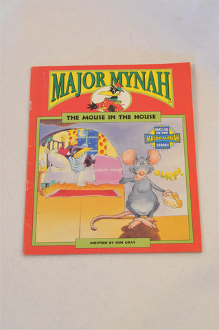 Major Mynah The Mouse In The House Book Unisex 2-6 years