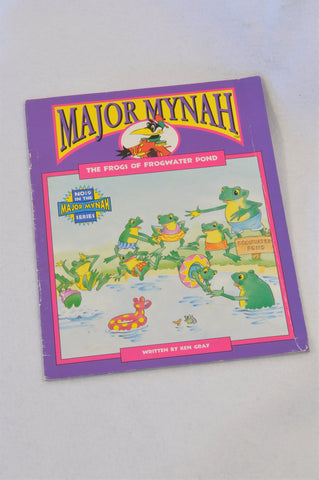 Major Mynah The Frogs Of Frogwater Pond Book Unisex 2-6 years