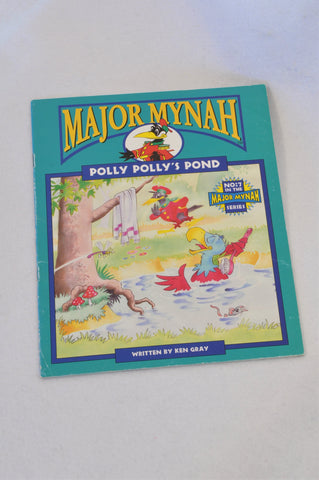 Major Mynah Polly Polly's Pond Book Unisex 2-6 years