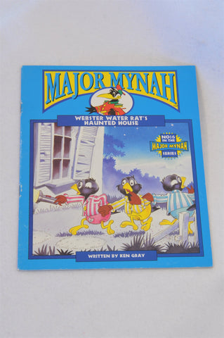 Major Mynah Webster Water Rat's Haunted House Book Unisex 2-6 years