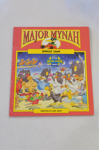Major Mynah Uncle Sam Book Unisex 2-6 years