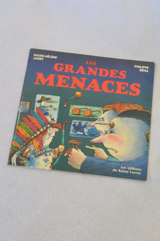 Unbranded Les Grandes Menaces Book Unisex 6+ years