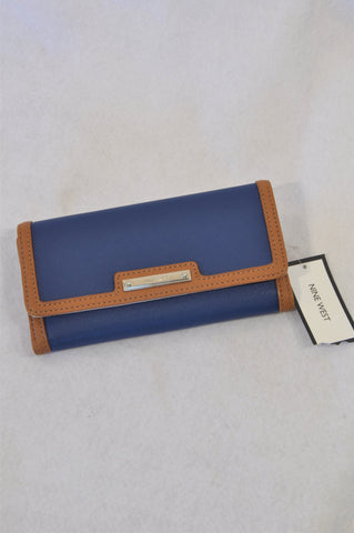 New Nine West Navy & Vintage Wallet Accessory Women