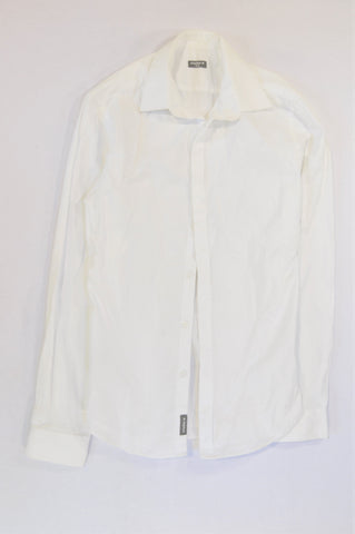 Studio.W Basic White Button Shirt Women Size XS