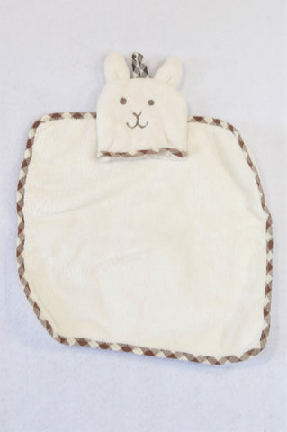 Unbranded Beige Brown Trim Soother Unisex N-B to 1 year