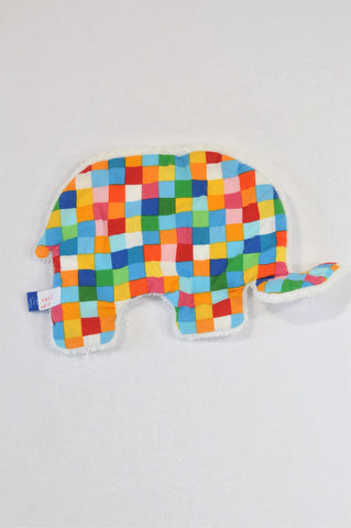 Unbranded Multi Colour Check Fleece Soother Unisex N-B to 1 year
