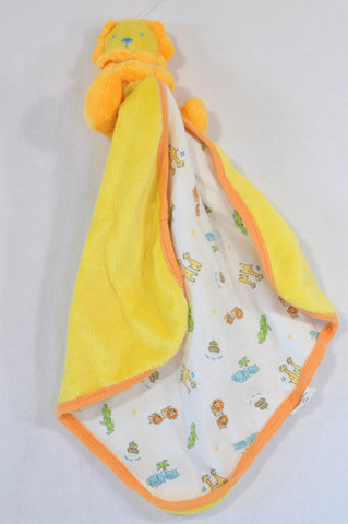 Unbranded Yellow Lion Soother Unisex N-B to 1 year