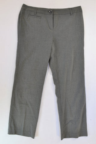 Woolworths Basic Grey Office Pants Women Size 14