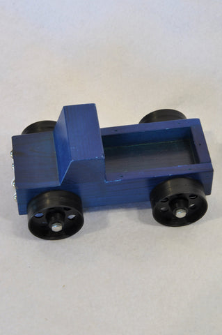 New Unbranded Navy Wooden Bakkie Toy Boys 3-10 years