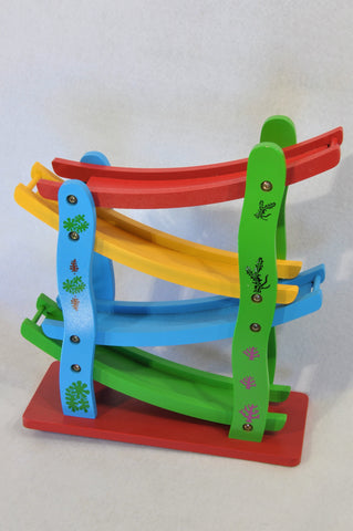 Unbranded 4 Piece Magnetic Car Bridge Toys Unisex 6 months to 3 years