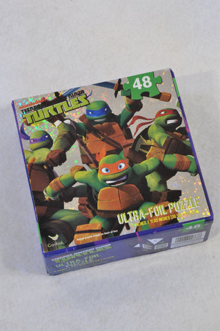 Nickelodeon 48 Piece Teenage Ninja Turtles Puzzle Unisex 4-10 years
