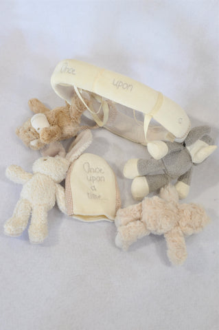 Unbranded Beige Bear Once Upon A Time Bear Mobile Unisex N-B to 1 year