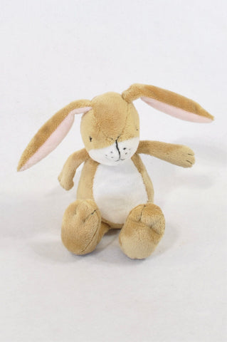 Soft Brown Bell Bunny Toy Unisex N-B to 2 years