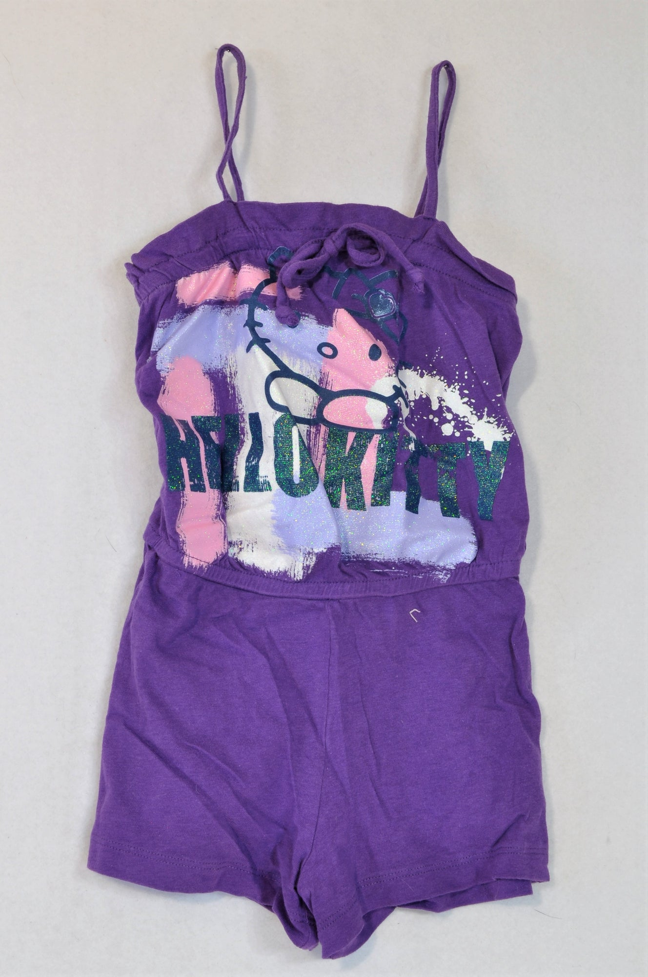 Sanrio Purple Hello Kitty Romper Girls 2-3 years