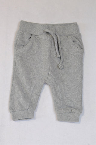 Exact Grey Cuffed Track Pants Unisex 2-3 years