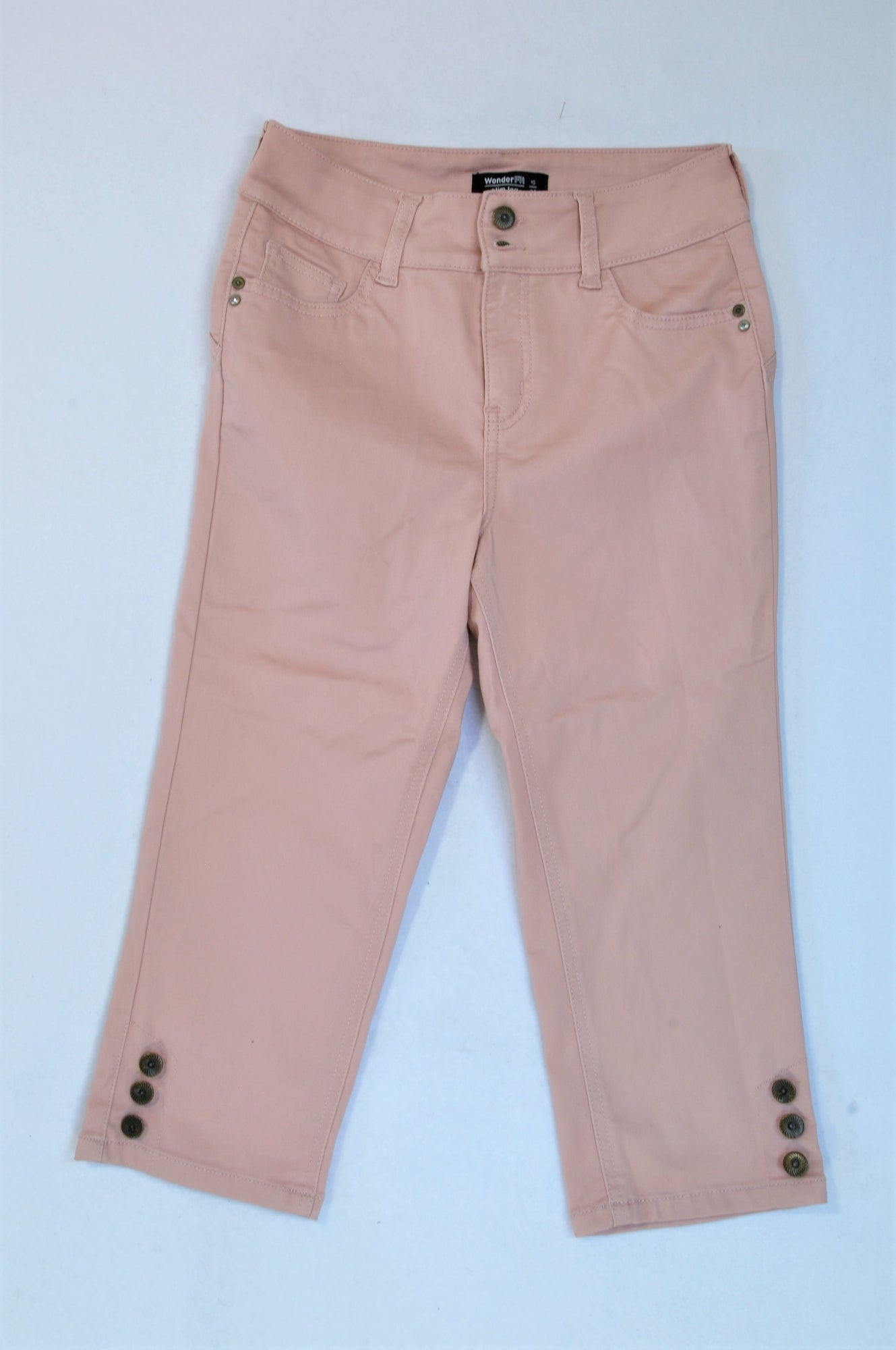 Woolworths Dusty Pink Straight Leg Pants Women Size 10