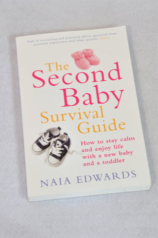 Unbranded The Second Baby Survival Guide Parenting Book Unisex N-B to 2 years
