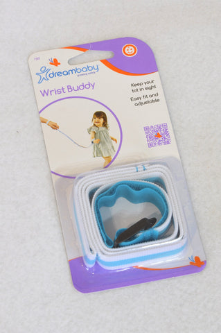 New Dreambaby Blue & White Wrist Buddy Safety Accessory Unisex 2-6 years