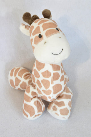Carter's Brown Lullaby Giraffe Soft Toy Unisex N-B to 2 years