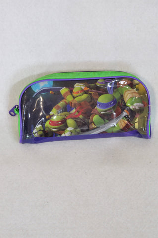 Unbranded Purple Ninja Turtle 35 Pcs Puzzle & Pencil Bag Boys 3-10 years