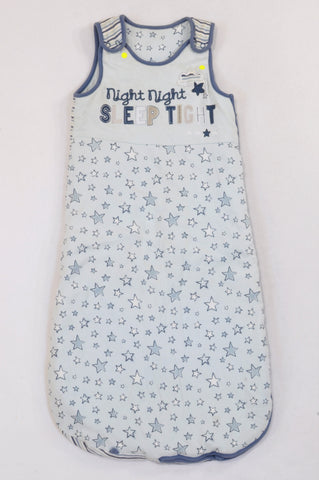 George Blue Stars & Stripes Night Night Sleep Tight Winter Sleep Sack Unisex 12-18 months