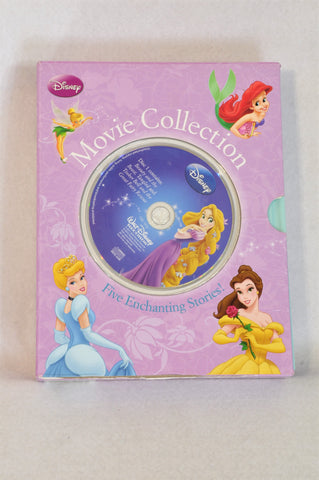 Disney Enchanting 5 Books and Read Along CD Girls 3-10 years