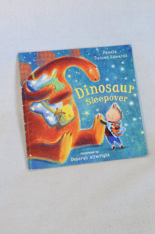 Unbranded Dinosaur Sleepover Paper Back Book Unisex 3-10 years
