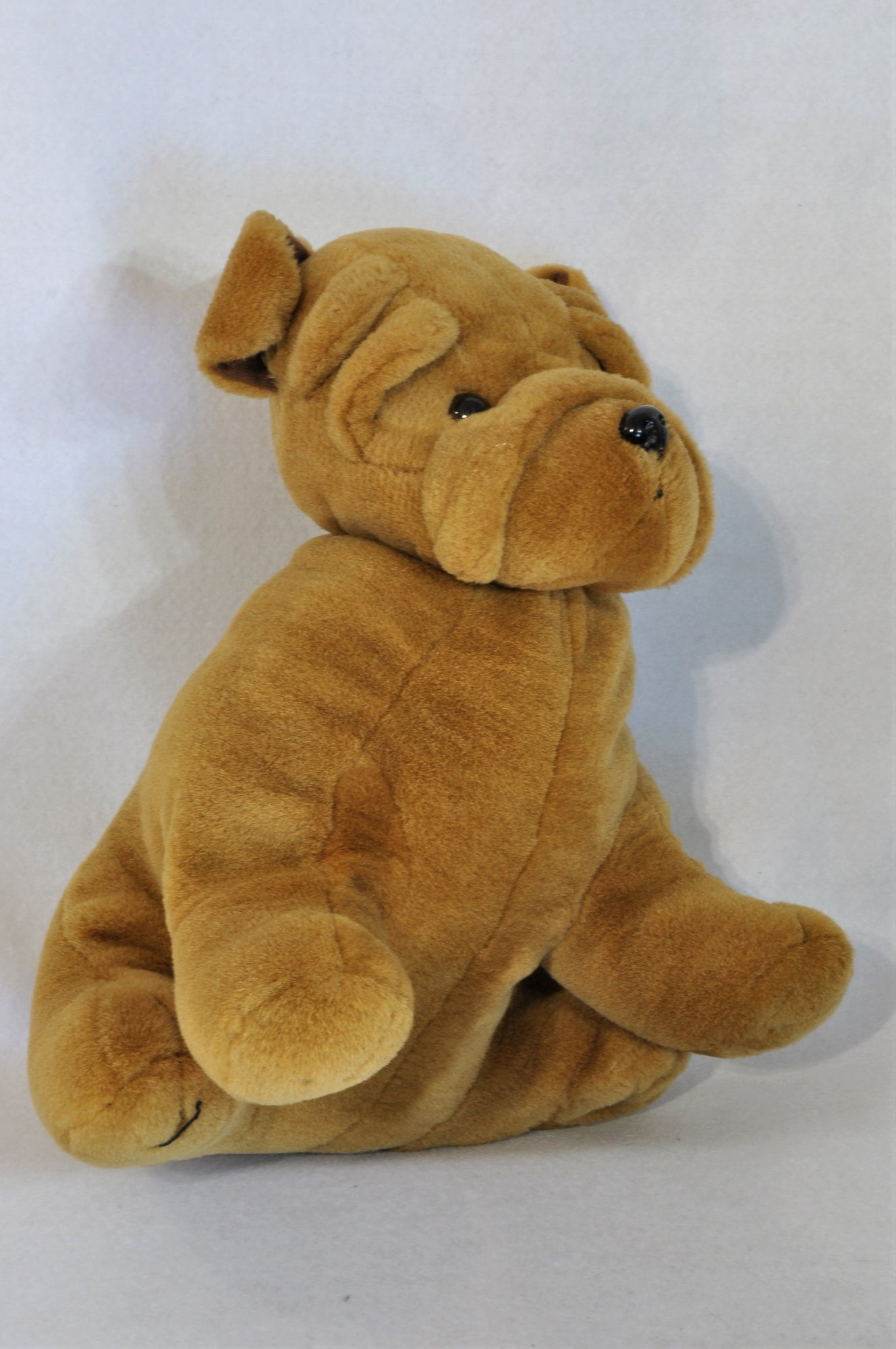 Unbranded Brown Shar-Pei Soft Toy Unisex N-B to 2 years