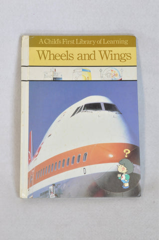 Unbranded Wheels & Wings Hardcover Book Unisex 3-10 years