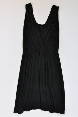 Woolworths Basic Black Tank Strap Dress Women Size S