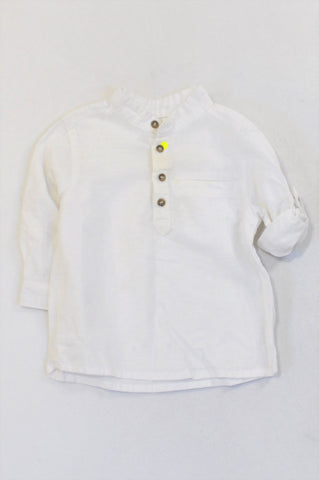 Kid Kanai Basic White Shirt Boys 12-18 months