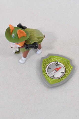 Paw Patrol Olive Tracker Pup With Badge Toy Unisex 3-10 years