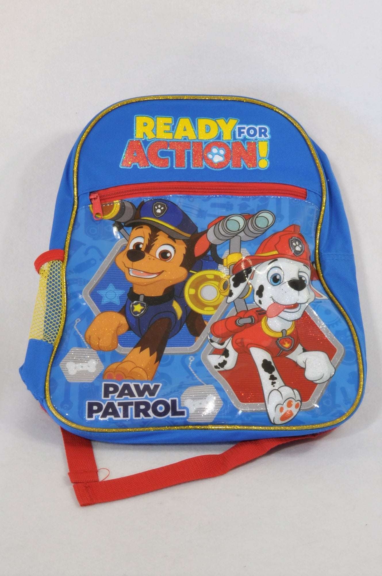 Blue Ready For Action Paw Patrol Backpack Boys 1-10 years