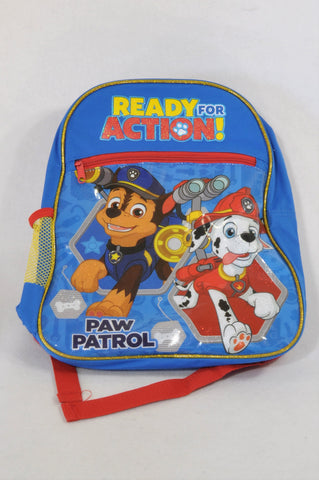 083b3d397cdd4 Blue Ready For Action Paw Patrol Backpack Boys 1-10 years