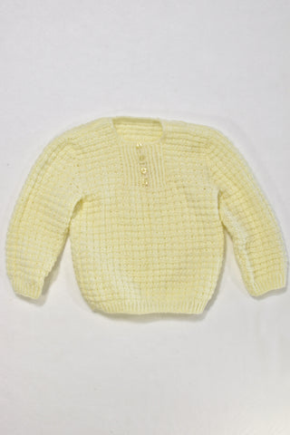 Yellow Knitted Jersey Unisex 12-18 months