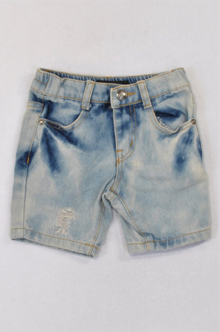 Mr. Price Distressed Denim Shorts Boys 2-3 years