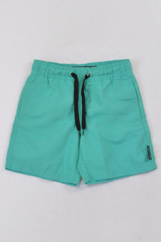Maui & Sons Green Swimming Shorts Boys 3-4 years