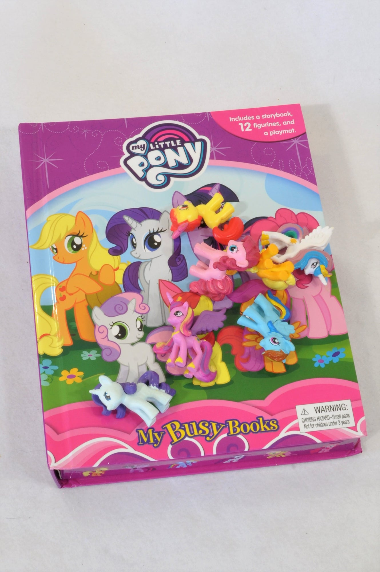 My Little Pony Storybook, Figurine and Playmat Book Unisex 3-10 years