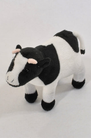 Black & White Cow Plush Toy Unisex All Ages