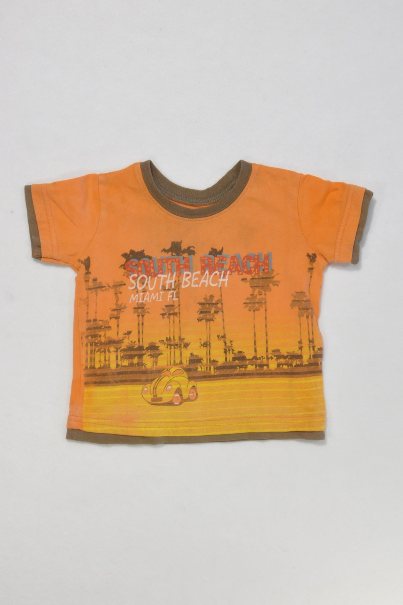 Woolies South Beach T-shirt Boys 6-12 months