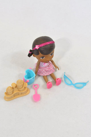 Unbranded Doc Mcstuffins At The Beach Set Of Toys Girls 3-10 years