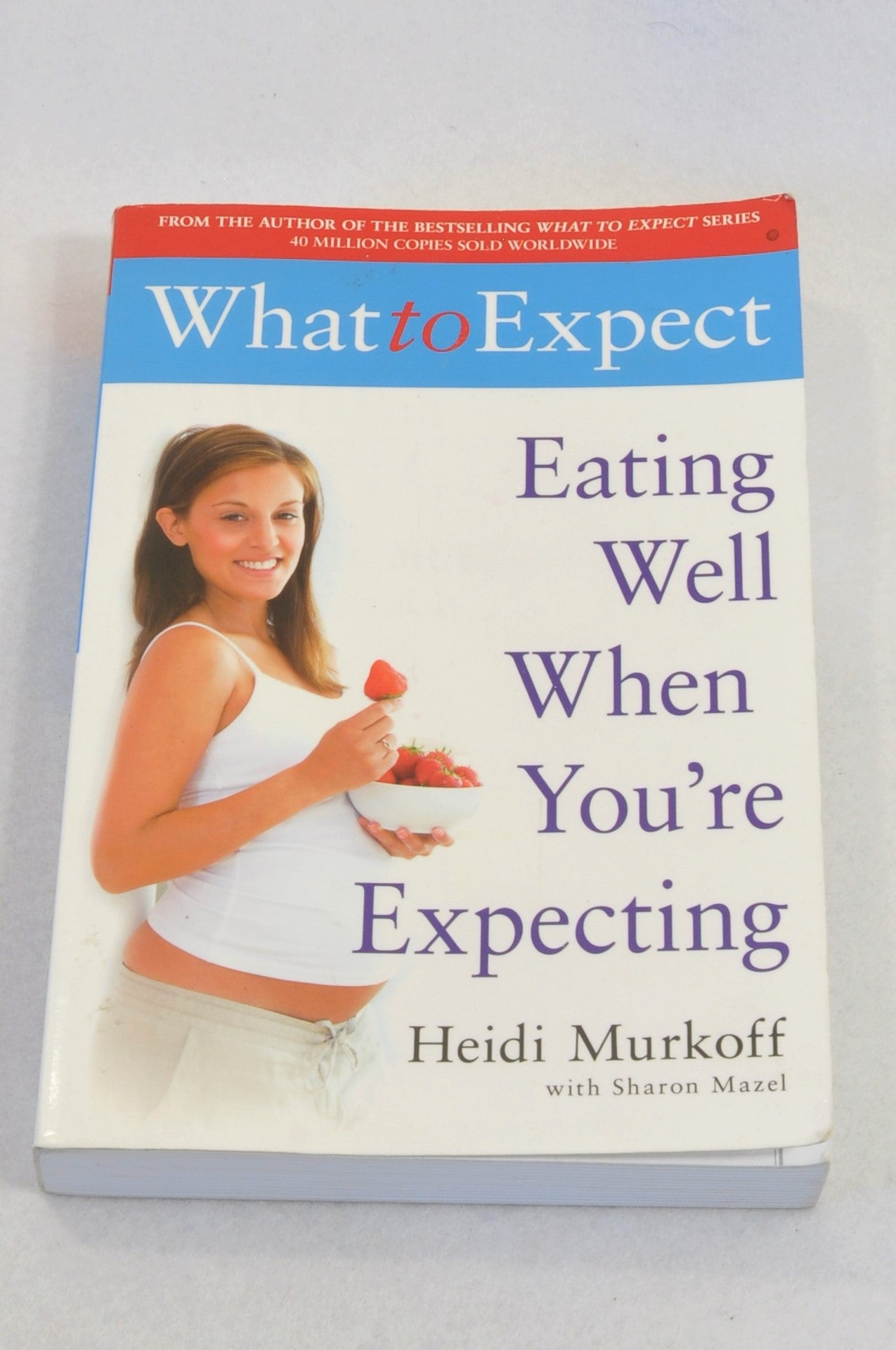 Eating Well When You're Excpecting Parenting Book Unisex N-B