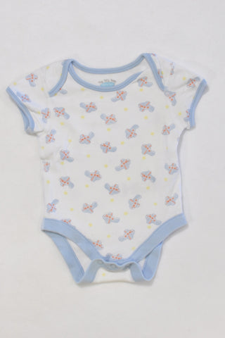 Tiny Tatty Teddy Unisex Baby Grow 0-3 months