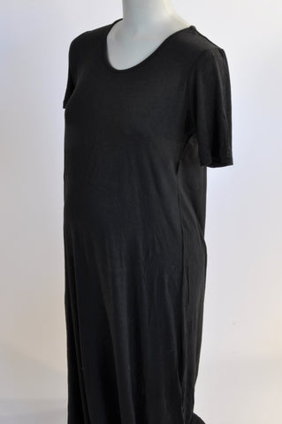 Cherrymelon Basic Black Maternity Dress Size 14