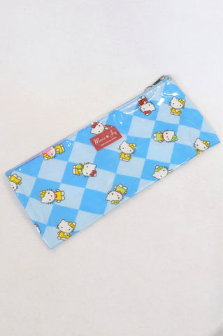 Marie Joy Blue Hello Kitty Pencil Bag Accessory Girls 3-10 years