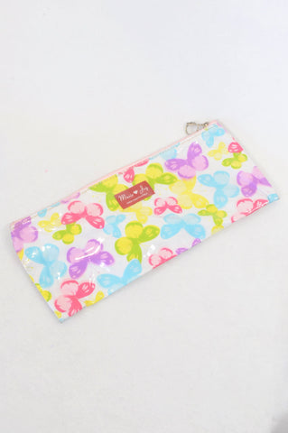Marie Joy Multi Color Butterfly Pencil Bag Accessory Girls 3-10 years