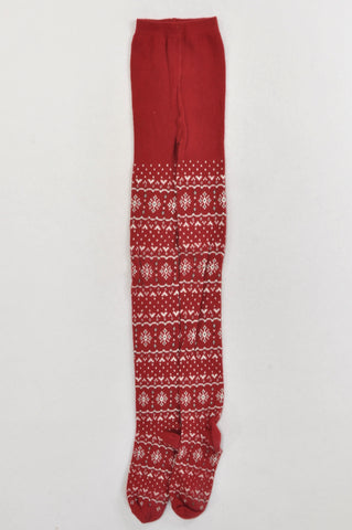 Gymboree Red Christmas Decor Stockings Girls 9-10 years