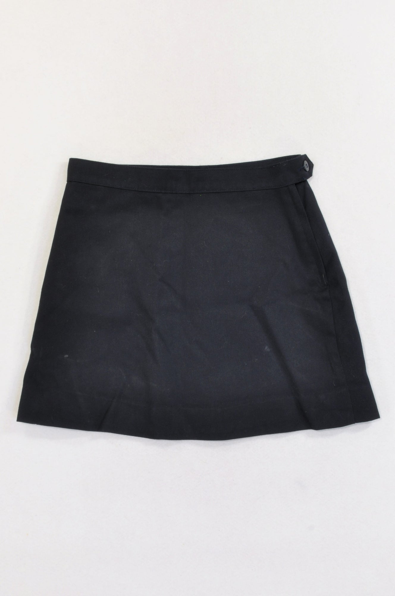 Woolworths Navy School Skirt Girls 11-12 years